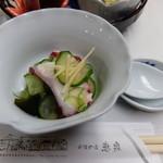丹波の宿 恵泉 - 夕食コース 酢の物