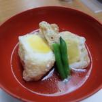 丹波の宿 恵泉 - 夕食コース 揚げ包み玉子