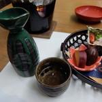 丹波の宿 恵泉 - 夕食 日本酒 鳳鳴