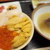 ろくさん食堂 - 料理写真:特製三色丼