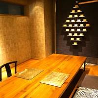 白金台こばやし - 夜のお時間は個室を2名様からご利用頂けます。(最大6名様)