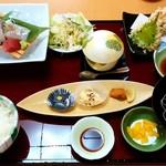 活魚料理一徳 - 活魚料理一徳@丸亀 天刺し御膳