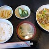 きくや - 料理写真:豚肉と野菜のカレー炒め定食