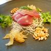 香港海鮮料理 季し菜 - 料理写真:天然ヨコワの広東式刺身サラダ
