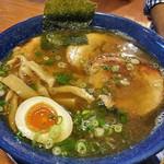 麺屋 一本気 - らー麺・ちゃーしゅう(2016年10月)