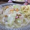 とんかつしばた - 料理写真:ラーメンと同じ位、チャンポンが好きです。 クタクタに炒められた野菜・肉や海鮮から出た旨味と融合するスープ・ぷりぷりの中太麺。