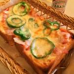 銀座 和蘭豆 - ピザトースト
