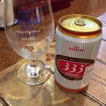 サイゴン・レストラン - ❝333❞というベトナムの定番ビール