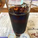 ペコペコ - ランチセットのドリンク アイスコーヒー