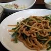 楽食中華 飛燕 - 料理写真:青椒肉絲 チンジャオロースー