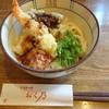 Iseudonokunoya - 料理写真:天ぷら伊勢うどん(850円)