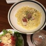 ニューヨークグランドキッチン - カルボナーラ