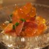 酒肆ポンシェビ  - 料理写真:3種の前菜 いくらとサケ