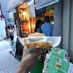 世界で2番めにおいしい焼きたてメロンパンアイス - メロンパンアイス¥350