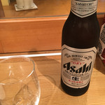 銀座酒蔵検校 - スーパードライ小瓶(320円)