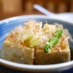 末ぜん - 揚げ出し豆腐