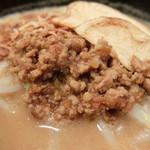 麺場 田所商店 - 肉味噌