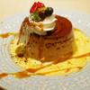 アザミ - 料理写真:黒糖を使ったカスタードプリン