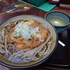 龍頭之茶屋 - 料理写真:かき揚げそば 800円 H28.10