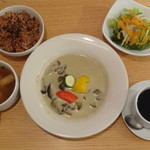 Zen Cafe Marina - タイ風グリーンカレー(ランチ)