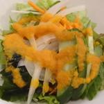 Zen Cafe Marina - サラダのアップ(ランチセット)