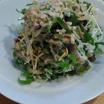 おかめ食堂 - サラダ。
