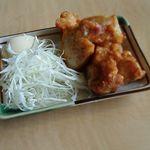 丸源ラーメン - セットの唐揚げ