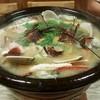 辰寿し - 料理写真:伊勢海老、タラバガニ、地蛤、かきの鍋(10/17)