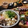 割烹バル 京ひろ - 料理写真:選べるお鍋の京ひろコース 桃太郎吉備団子