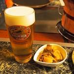 八仙 - 生ビール & 付き出し