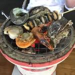 よしうみいきいき館 - 海鮮バーベキュー
