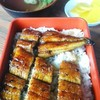 魚信 - 料理写真:鰻重と肝吸い