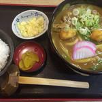 かとう - カレーうどんランチ ¥880