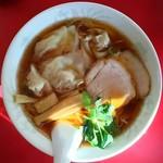 星龍軒 - 雲呑麺醤油