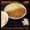 とんかつ まるや - 料理写真:ローズかつ定食 700円