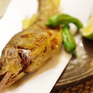 キッチン ウィル - 料理写真:鮎の唐揚げ