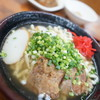 どん亭 - 料理写真:沖縄そば + ミニカレーセット
