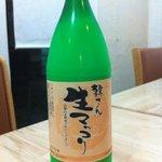 こさり - 新宿の韓国人韓さんが作っている生マッコリです。カクテルみたいに飲みやすい。