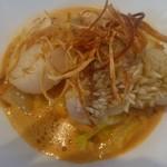 57700994 - =魚料理=甘鯛の鱗焼きとホタテのポワレ