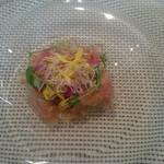 57701001 - =前菜①=秋刀魚のマリネ