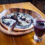 ラ・ペスカ - ブドウのピザ