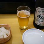 すしざんまい - 瓶ビール~☆