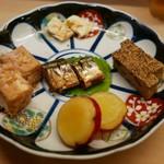 めなみ - おばんざい盛り合わせ(1200円)