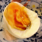 鳥料理 有明 - フレンチ鶏ゆで玉子アップ