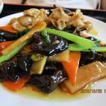 台湾料理 福亭 - 料理写真:「豚肉と木耳炒め」