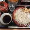 小諸そば - 料理写真:もりそば¥260-、単品鳥から¥110-