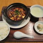 57755978 - 土鍋麻婆豆腐セット 1000円