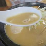 鳥見本 - 濃い目のスープ