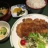 呑ん太 - 料理写真:今週の呑ん太定食(限定30食)トンカツ+冷そば