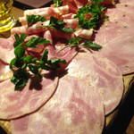 カ'ジーノ - 加工肉の盛り合わせ